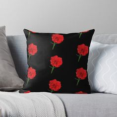 Framed Prints, Canvas Prints, Art Prints, Red Carnation, Red Throw Pillows, Carnations, Glossier Stickers, Finding Yourself, My Arts