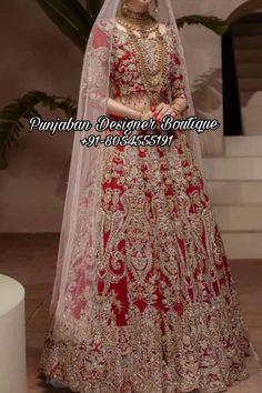 ❤️Red Bridal Lehengas Are Traditionally Accepted As Bridal Lehenga Choli. 👉 📲 CALL US : + 91 - 8054555191 #lehengalove #lehenga #lehengadesigns #lehengacholionline #lehengainspiration #lehengastyle #lehengablouse #lehengablousedesigns #lehengawedding #weddinglehengas #weddinglehenga #bridallehenga #bridallehengas #bridalcollections #bridalcouture #designerlehenga #bridetobe2021 #punjabiwedding #sikhweddings #canadawedding #luxurywear #luxuryboutique #torontowedding #canada #uk #usa Lehenga Wedding, Bridal Lehenga Choli, Choli Designs, Lehenga Designs, Chandigarh, Heavy Lehenga, Punjabi Fashion, Indian Designer Sarees, Lehenga Style