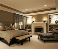 ideal master bedroom all around great colors