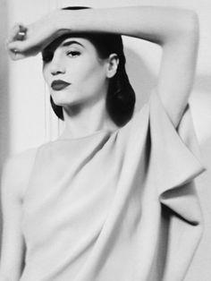 Thumb_portrait_left_mono Fierce Women, Model Agency, Betta, Magnolia, Snow White, London, Portrait, Lady, People
