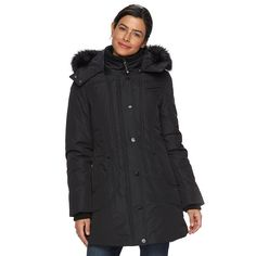 Women's Halifax Hooded Active Parka Jacket, Size: