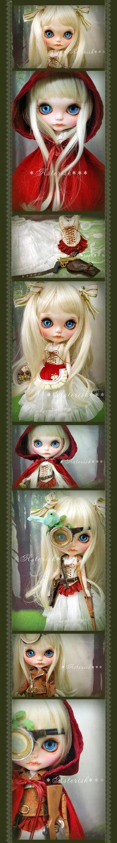 * Custom Blythe Little Red Riding Hood-Asterisk *** Admin - Auction - Rinkya! Japan Auction & Shopping