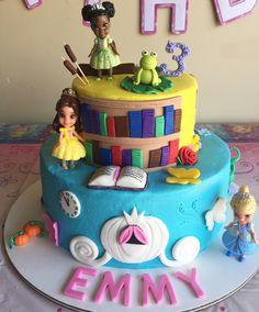 Disney Princess Cake Front