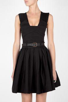 Coveting this black dress.