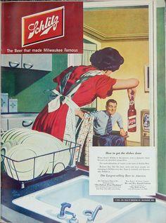 Schlitz-1951-dishes | Flickr - Photo Sharing!