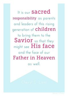 Relief Society Handout #lds by norma a quintanilla