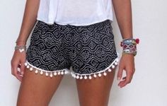 shorts bolitas