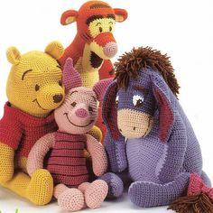 Vintage Crochet Pattern Winnie der Puuh von BabyVintagePatterns