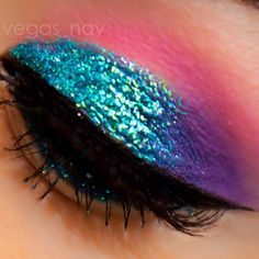 Rainbow Bright Eye Makeup For All Occassions designer swag without the li Blue Eyeshadow Bright designer Eye Makeup Occassions Rainbow swag 80s Eye Makeup, Metallic Eye Makeup, Eye Makeup Cut Crease, Bright Eye Makeup, Bronze Makeup, Natural Eye Makeup, Blue Eye Makeup, Makeup For Brown Eyes, Hair Makeup