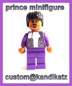 PrinceDavid Bowie Custom Mini FigureBlock ToysCake