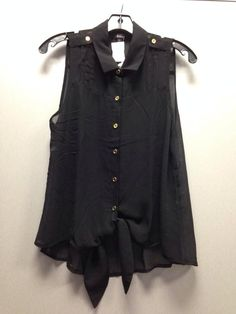 Tie Down Sheer Top Available sizes: S, M, L Price: $16.99 Sku: AB12369