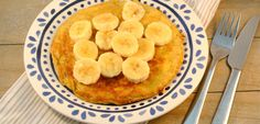 Gezonde bananenpannenkoekjes - Lekker en Simpel Stevia, No Bake Desserts, Food Inspiration, Macaroni And Cheese, Chutney, Brunch, Good Food, Chips, Low Carb