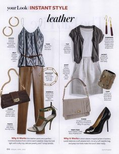 InStyle Editorial Your Look: Instant Style, April 2010 Shot #3