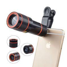 OptiZoom- QX9-HD 12X Zoom Lens  2018 (FREE Shipping) #UnbrandedGeneric