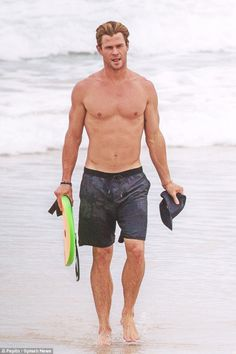 """I'd nearly always rather be surfing.""-Chris Hemsworth"