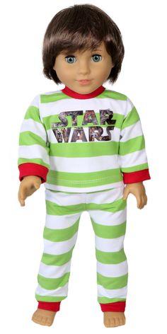 Silly Monkey - Striped Star Wars Pajamas, $16.00 (http://www.silly-monkey.com/products/striped-star-wars-pajamas.html)