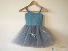 Party dress - tulle, sequins and feathers (+ The tutorial)