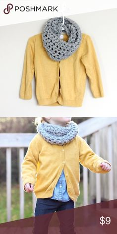 Toddler infinity scarf ✂️ Handmade by me  Fits ages 18mo-3y (and totally unisex!)  Leave color(s) and child's age(s)  A fall staple in every wardrobe  ONE for $9 TWO for $15 THREE for $23 Accessories