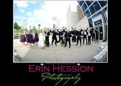 Amanda + Jordon   Wedding Ceremony and Reception.  Photos by Erin Hession Photography.  #IndianaStateMuseum