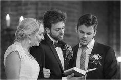 Wedding at Mariakyrkan, Helsingborg #ceremony #wedding #helsingborg #moments #church #ögonblick #lifestyle #realwedding #romantic #swedishwedding #photographer #naturallight #porträtt #kullafoto #annalauridsen #bröllop #bröllopsfotograf #bryllup #bryllupsfotograf #bw #bröllophelsingborg Bröllop Helsingborg Skåne [Photo by Anna Lauridsen Kullafoto]