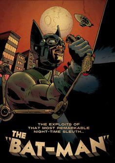 Steampunk Batman Art | Steampunk Batman by francostagni on DeviantArt