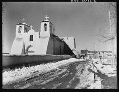 Ranchos de Taos, New Mexico. Church