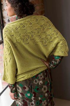 Ravelry: Botanic Pullover pattern by Moon Eldridge