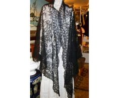 Кружевная накидка, шаль, мантилья (233813) - аукцион Numiland.ru