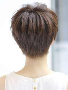 Cool back view undercut pixie haircut hairstyle ideas 15