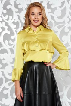 Bluza dama cu croi larg Leather Skirt, Mall, Skirts, Fashion, Moda, Leather Skirts, Fashion Styles, Skirt