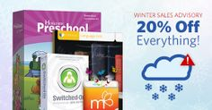Save 20% off all AOP #homeschool curriculum and supplemental resources Friday, January 31 only!