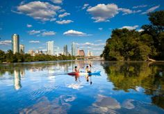 To grow intellectually I believe one needs to feed the spirit through time in nature...Town Lake will be a place of study and contemplation while I earn an MBA at Texas.