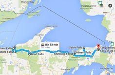 The Ultimate Waterfall Tour in MIchigan's U.P.