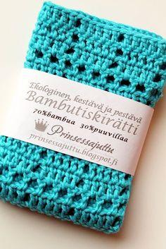 Virkattu tiskirätti, OHJE x 6 | Prinsessajuttu | Bloglovin' Weaving, Crochet Hats, Knitting, Handmade, Crafts, Diy, Crocheting, Felt, Crochet Carpet