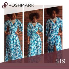 Indie floral dress Long Dresses Maxi