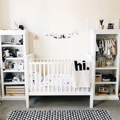 Adorable gender neutral nursery by @rachellynphotog featuring my crib size hi blanket!