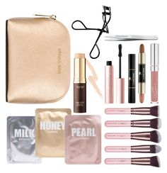 """""""High-end Beauty"""" by ria-brooke ❤ liked on Polyvore featuring beauty, Lapcos, Luxie, MICHAEL Michael Kors, tarte, Lancôme, Tweezerman, Too Faced Cosmetics, Bobbi Brown Cosmetics and gymbeauty"""