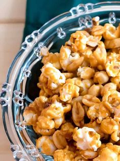 Old-Fashioned Caramel Corn PudgeFactor.com: Sweet, crunchy, and totally addictive.