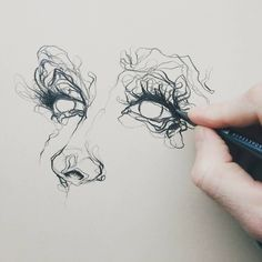 "6,320 Likes, 14 Comments - ArteVM (@artevm) on Instagram: ""Amazing Art by: @benjamin.marr ____________________________ #sketch #pencil #drawing #eyes…"""