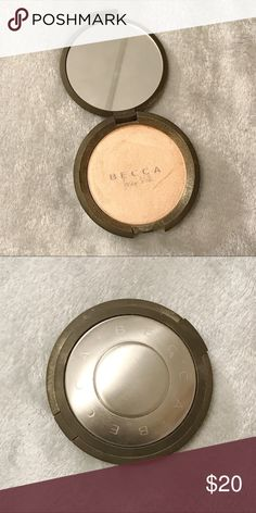 Becca X Jaclyn Hill Champagne Pop Pressed Becca Shimmering Skin Perfector in pressed form. This shade was their first collaboration with YouTube Beauty Guru, Jaclyn Hill. Very gently used. BECCA Makeup Luminizer