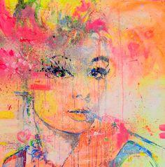 Audrey Hepburn, Painting by Marta Zawadzka | Artfinder