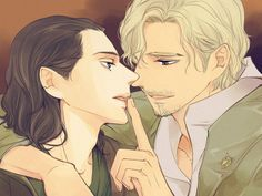 I don't ship those two, but this is still pretty hot.