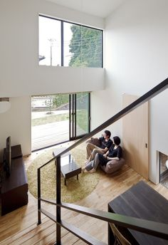 Niu House - Japanese House - Yashihiro Yahomoto Architect Atelier - Nara - Japan - Living Room - Humble Homes