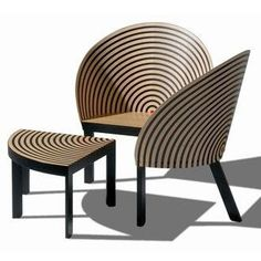 Bench for Two by Nanna Ditzel 1989. The texture reminds me of a Corday Purse I had in 1952...jp...