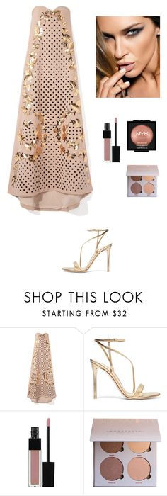 """""""Sexy Little Mini"""" by kotnourka ❤ liked on Polyvore featuring Gianvito Rossi, Edward Bess and NYX"""