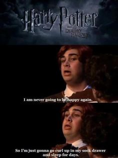 Valid method to deal with post-Potter depression.