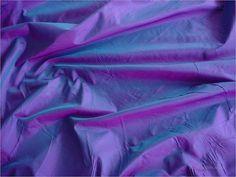 Blue-purple 2-tone silk fabric.