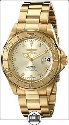Invicta 17054 - Reloj para hombres color dorado de  ✿ Relojes para hombre - (Gama media/alta) ✿