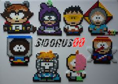 South park Coon & Friends hama bead by Sidorus00