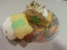 Pistachio cupcake by A Cupcake Queen - Crystal Gruber.